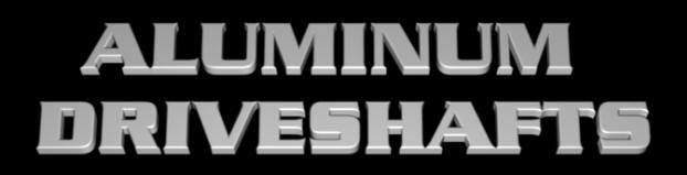 Sports Alumin Driveshafts, drive shafts